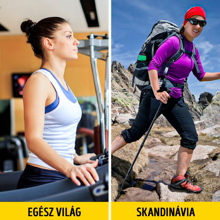 Skandinav edzes helyett